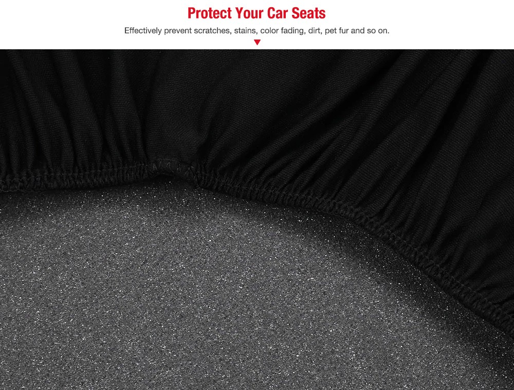 AutoYouth Y30085 Universal Car Seat Cover Interior Accessory- Ocean Blue