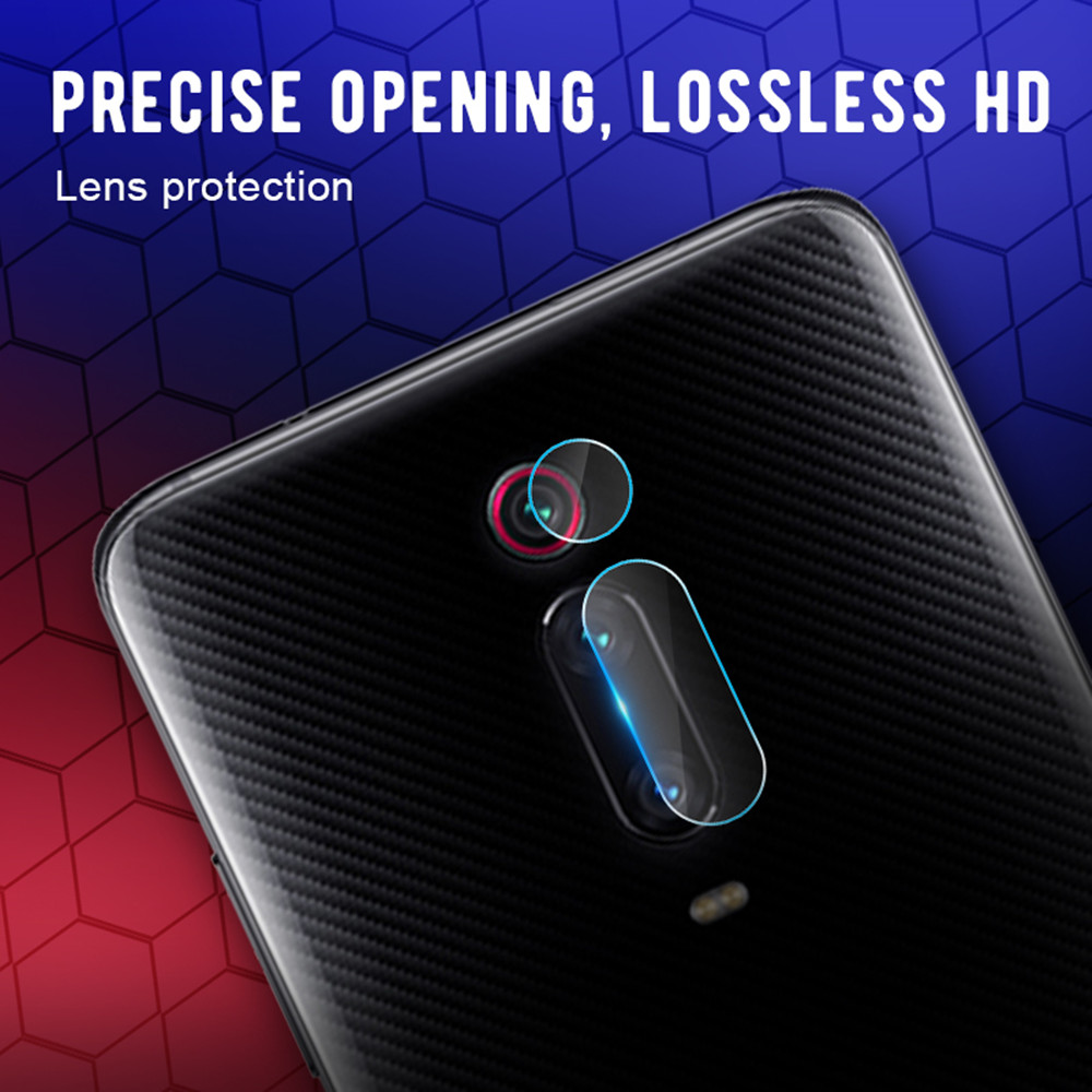 Lens Protective Film + Glass Screen Protector for Xiaomi Mi 9T / 9T Pro- Transparent