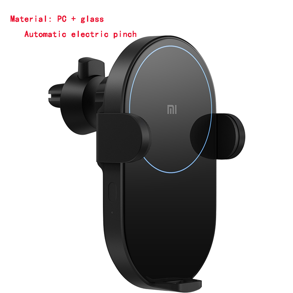 Mini Versione Universale di Xiaomi 20W Smart Wireless Caricabatterie Ricarica Rapida- Nero Come L'ebano