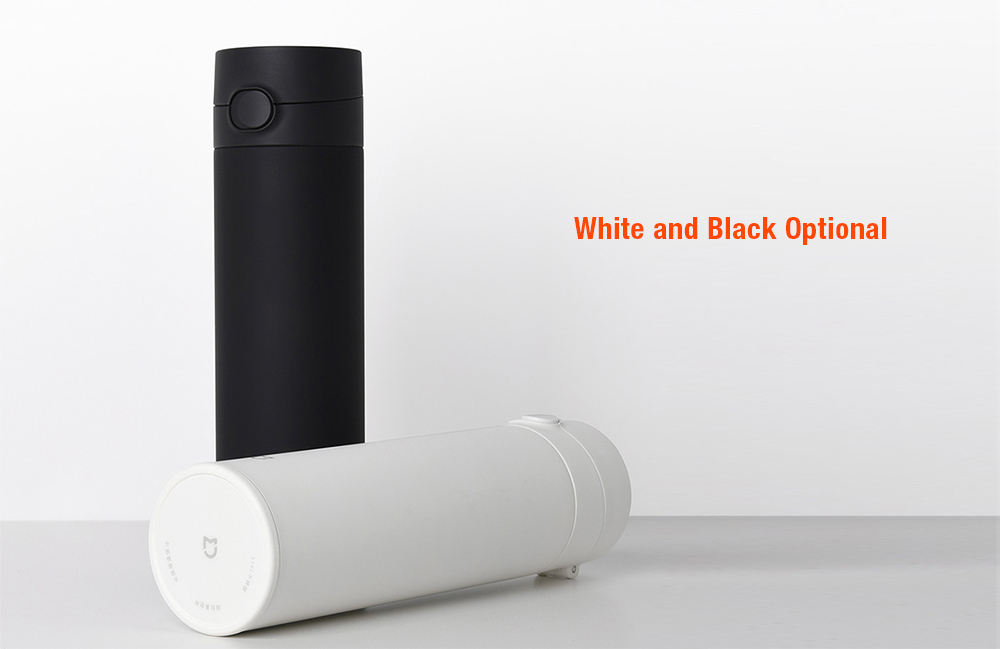 Xiaomi Mijia 480ML Large Capacity Thermos Cup Second Generation - Black