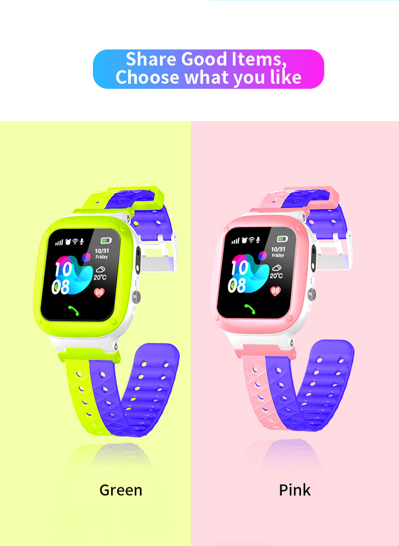 U5L Children Smart Watch V1.0 Version- Green U5L