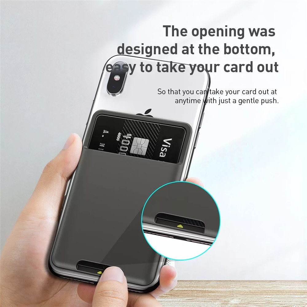Multifunctional Convenient Card Holder- Dark Gray