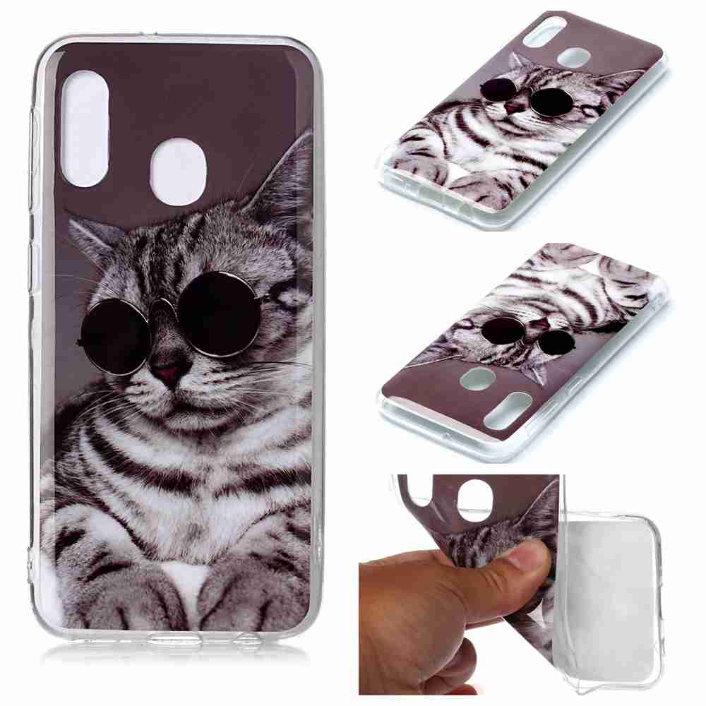 IMD Painted Phone Case for  Samsung Galaxy A20E- Multi-A