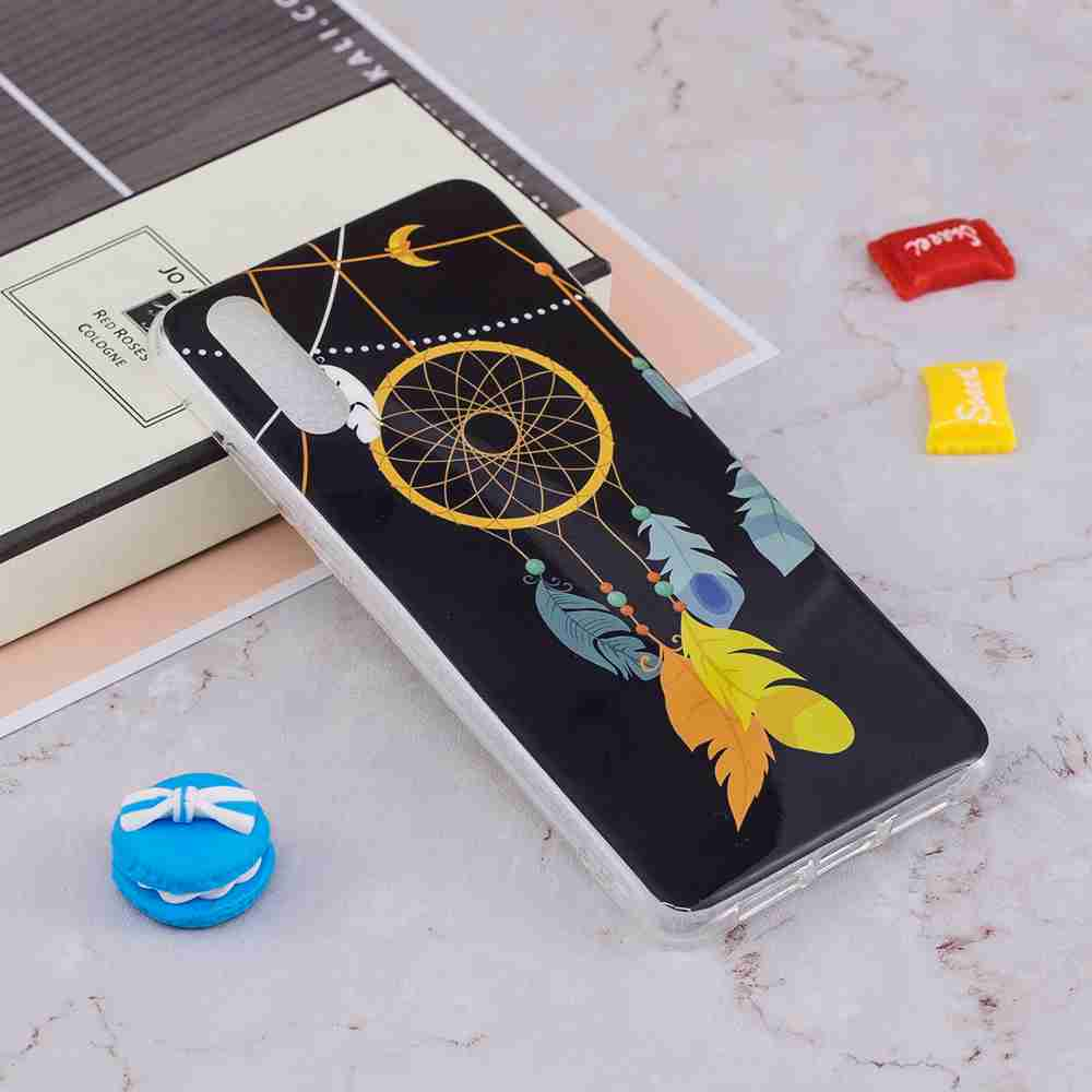 Luminous Painted TPU Phone Case for Huawei P20- Multi-D