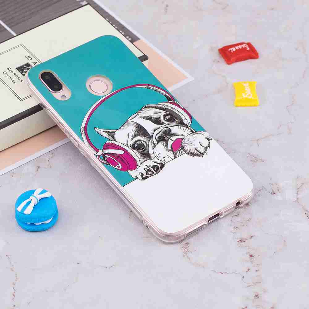 Luminous Painted TPU Phone Case for Huawei P20 Lite- Multi-H