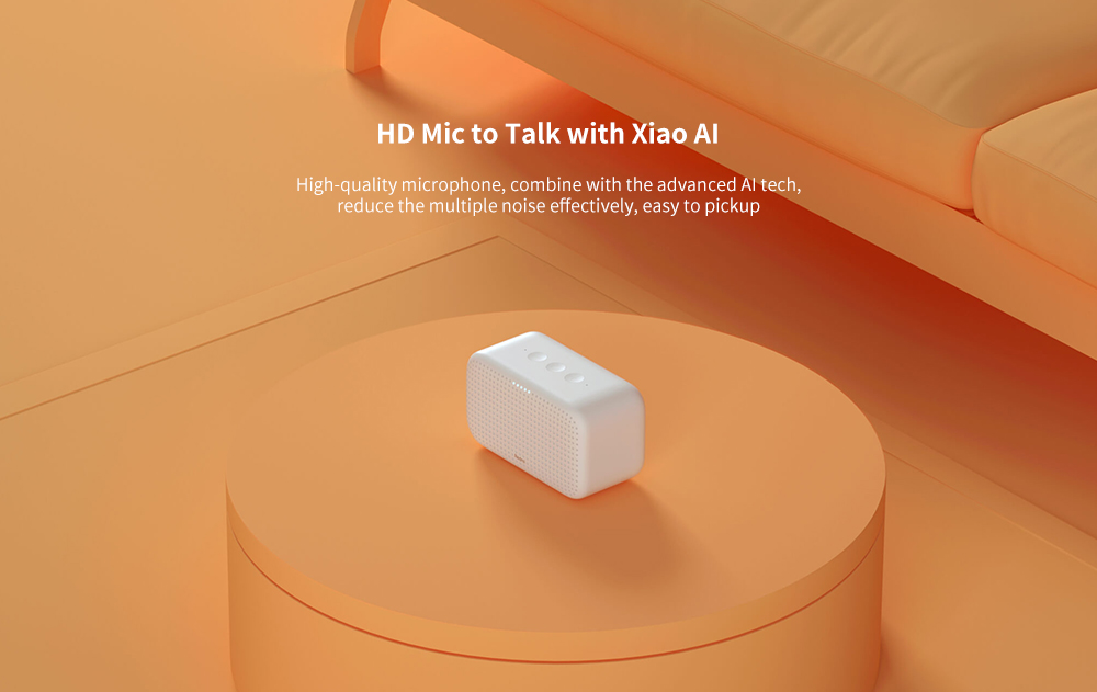 Xiaomi Redmi Xiao AI Speaker Play Smart Home Audio Device Bluetooth Gateway Version- White