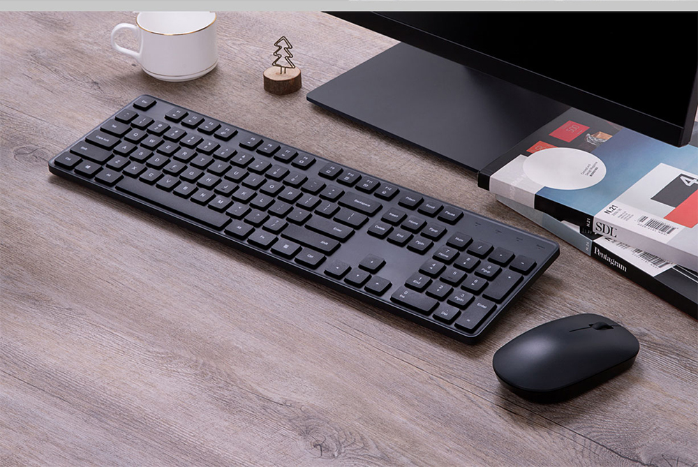 Xiaomi Wireless Keyboard and Mouse Set - Black