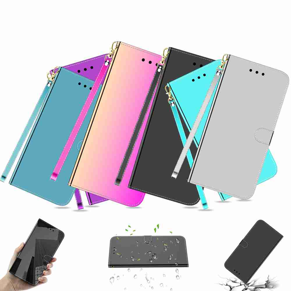 Pure Color Like A Mirror Phone Case for Xiaomi Redmi Note 8T- Black