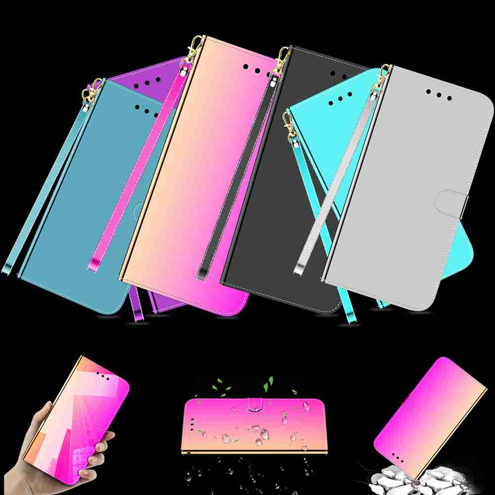 Pure Color Like A Mirror Phone Case for Huawei  P Smart 2019 / Honor10 Lite- Tyrian Purple