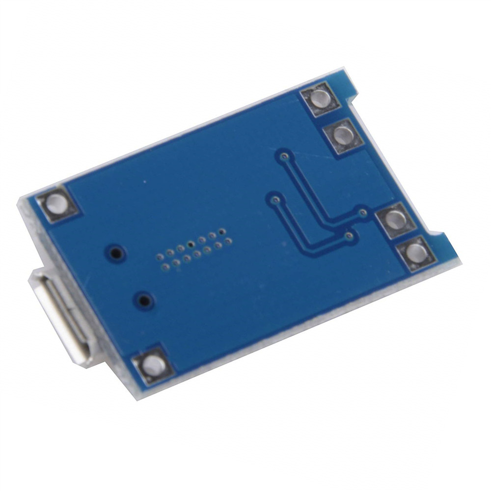 5V Micro USB 1A 18650 TP4056 Lithium Battery Charging Board- Blue 1pc
