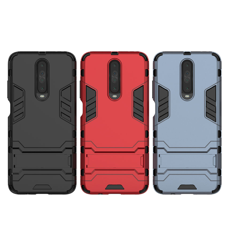 Shockproof Protection Armor Phone Case for Xiaomi Redmi K30- Black