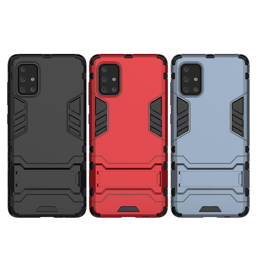 Shockproof Protection Armor Phone Case for Samsung Galaxy A71- Cadetblue
