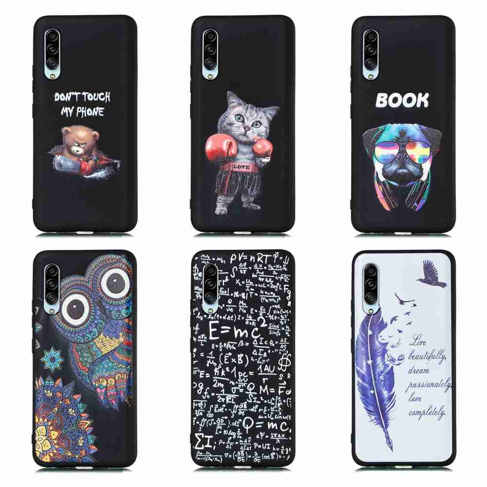 TPU Frosted Starry Sky Painted Phone Case for Samsung Galaxy A90 5G- Multi-L