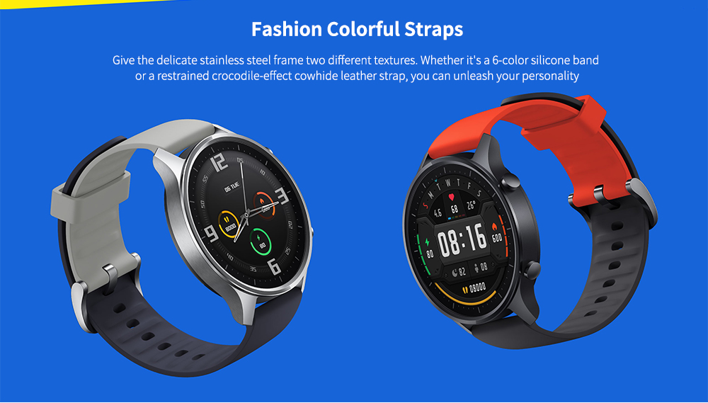 Xiaomi Mi Watch Color 1.39 inch AMOLED Screen Smart Sports Watch- Black