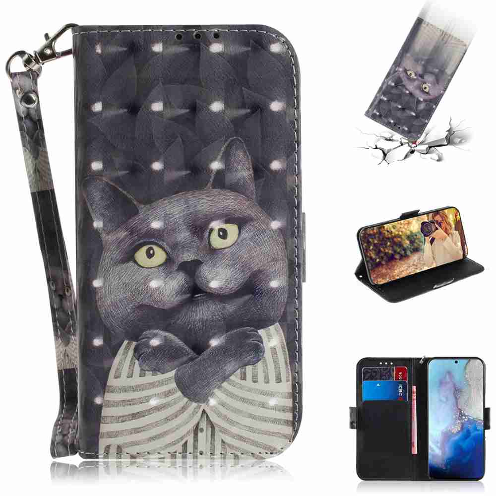 Multi-pattern 3D Painted Phone Case for Samsung Galaxy  S20- Multi-B