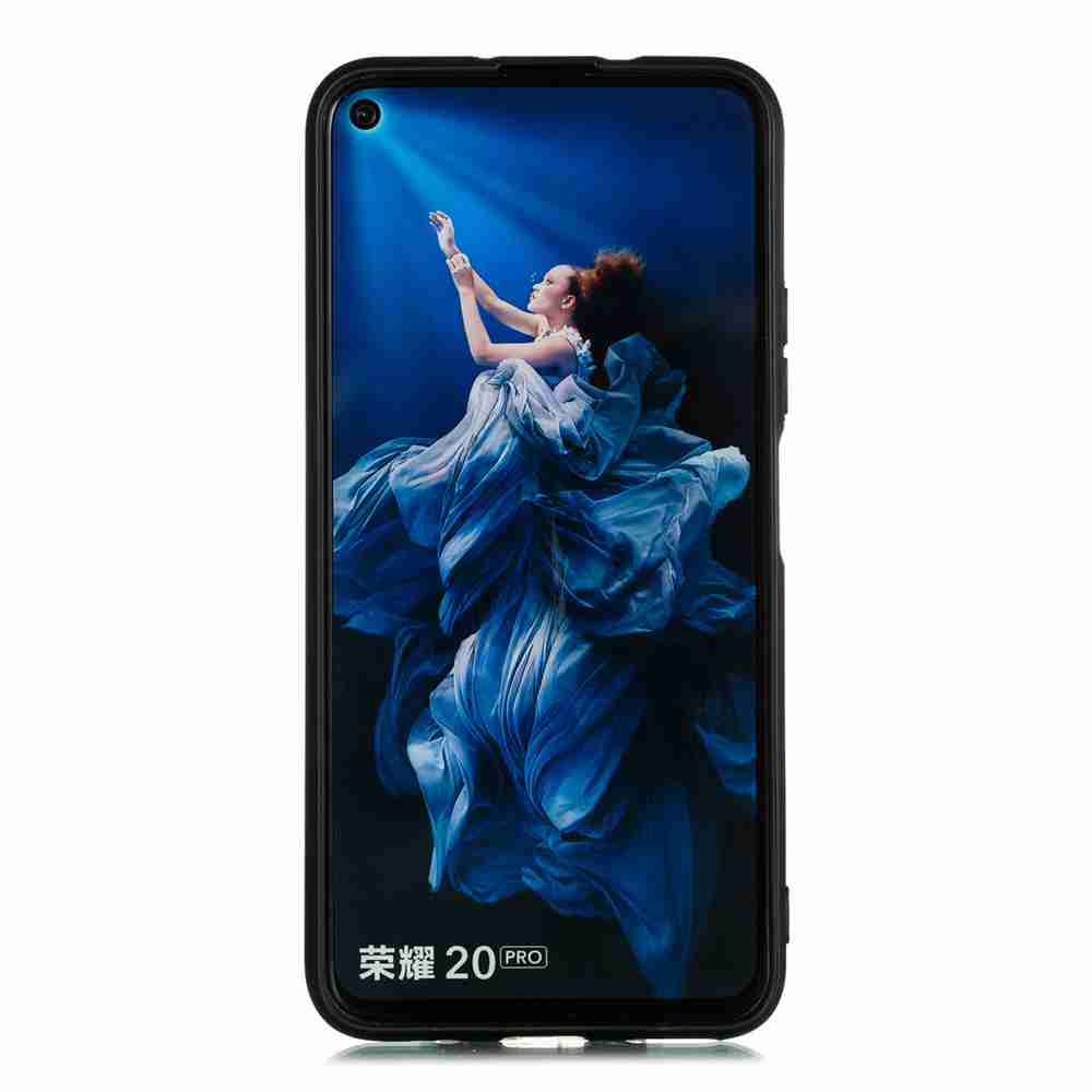 Frosted Painted TPU Phone Case for huawei Honor 20 Pro- Multi-H