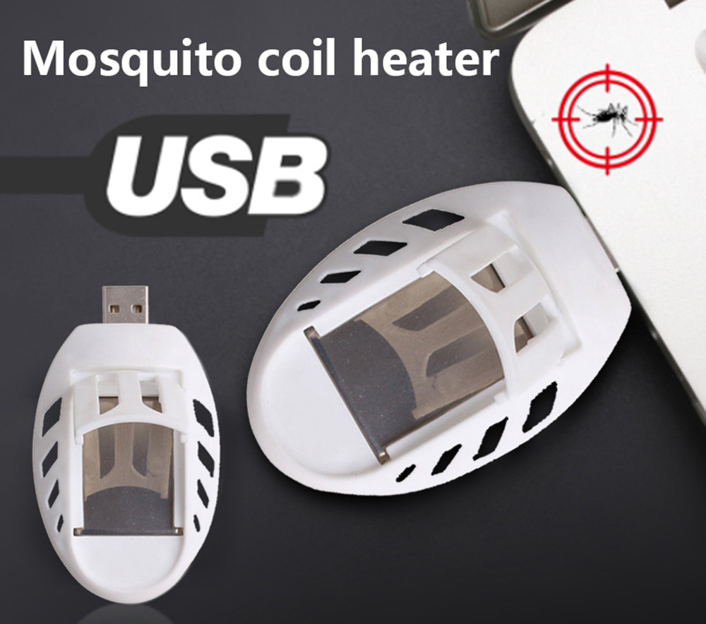 BRELONG USB Portable Electric Heater Mosquito Killer Mosquito Pest Insect Flies Heater- White