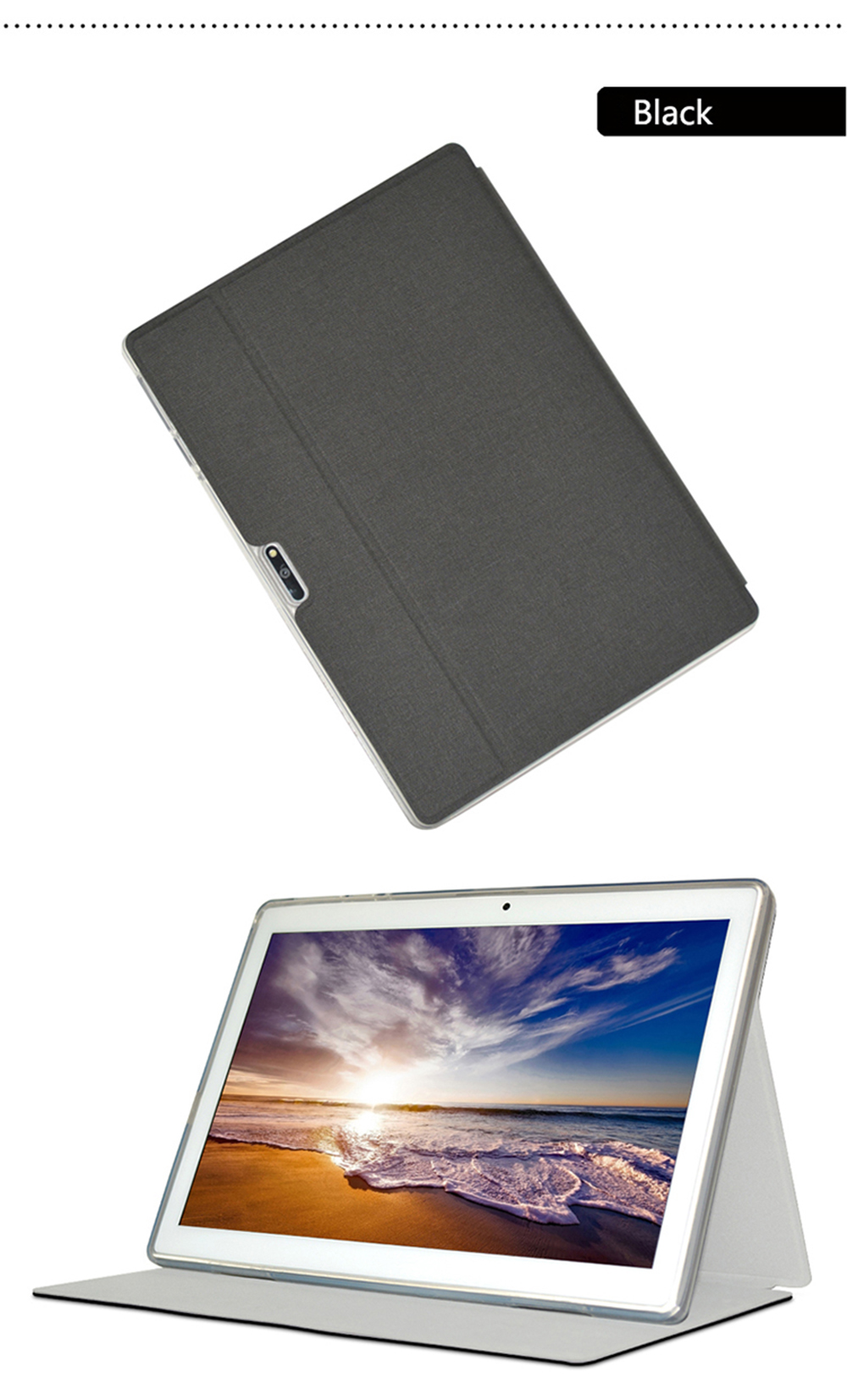 OCUBE Protective Tablet Case for Teclast M30- Black