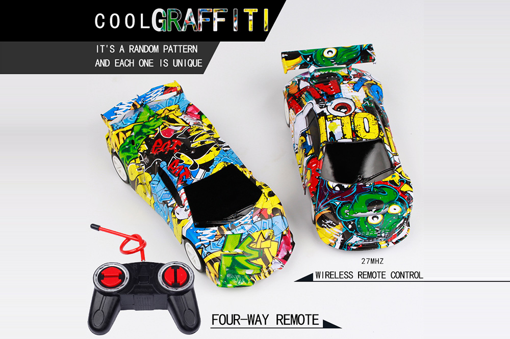 1:22 Four-way Remote Control Car Graffiti- ACU Camouflage