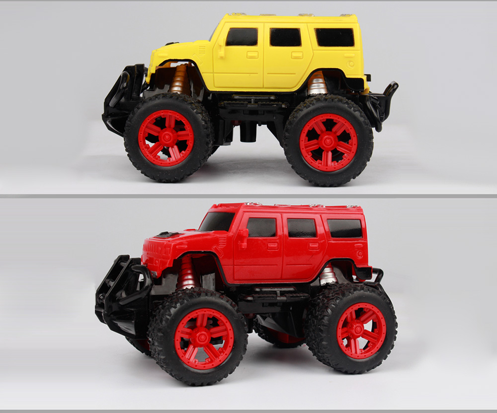 1:43 Stone Simulation Remote Control Off-road Vehicles- Yellow