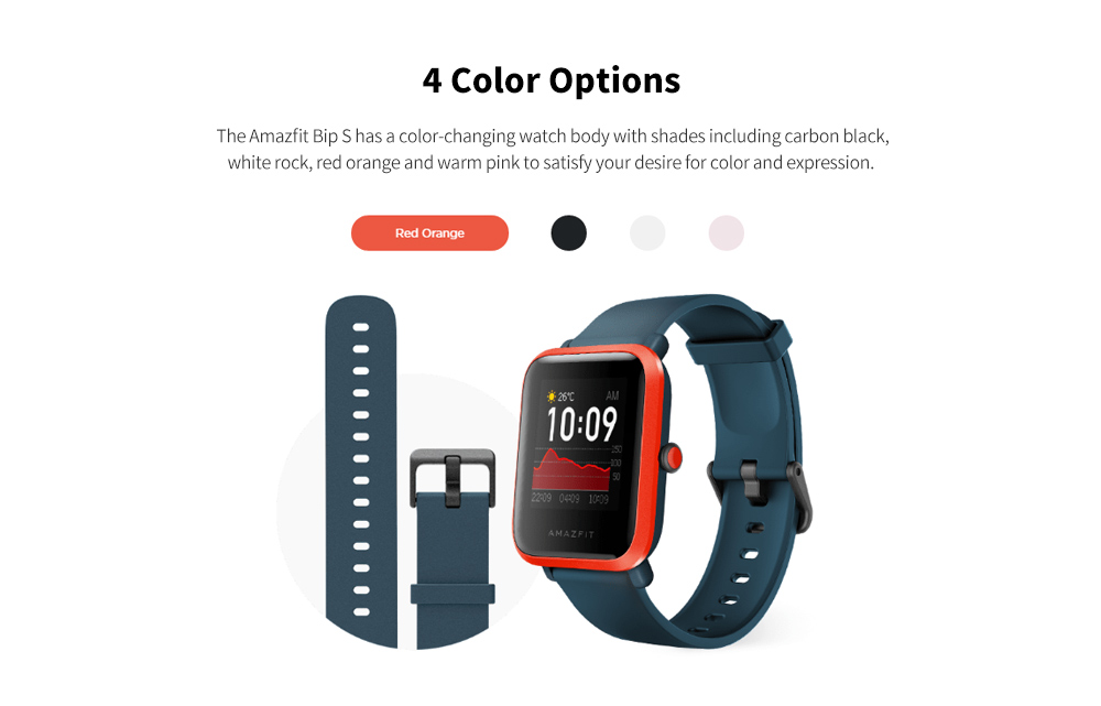 Amazfit BIP S Smartwatch Multiple Colors