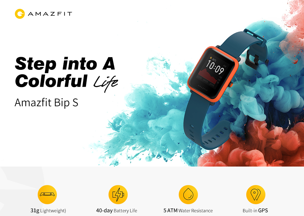 Amazfit BIP S Main Features