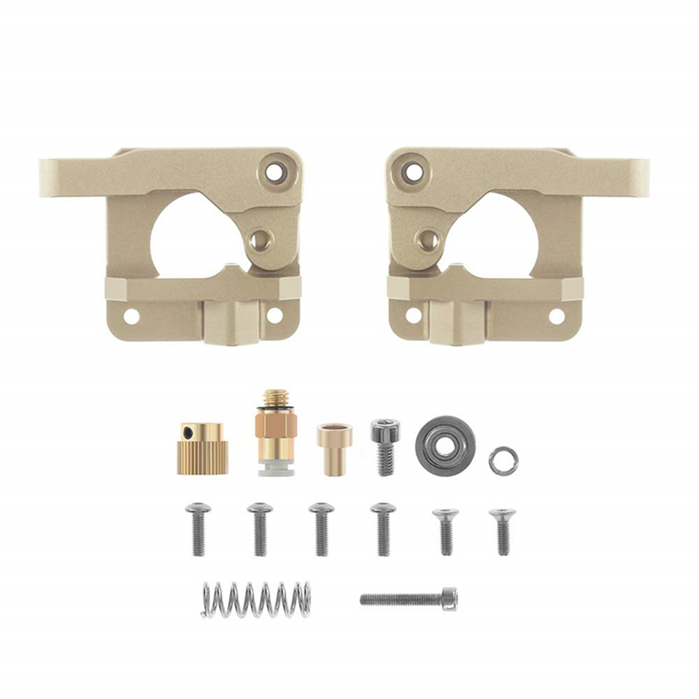 Upgrade Aluminum Extruder Drive Feed Frame For Creality 3D Printer Left//Right