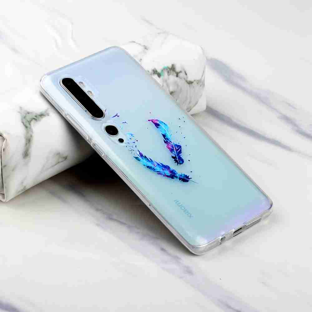 Frosted Painted TPU Phone Case for Xiaomi CC9 Pro- Multi-B