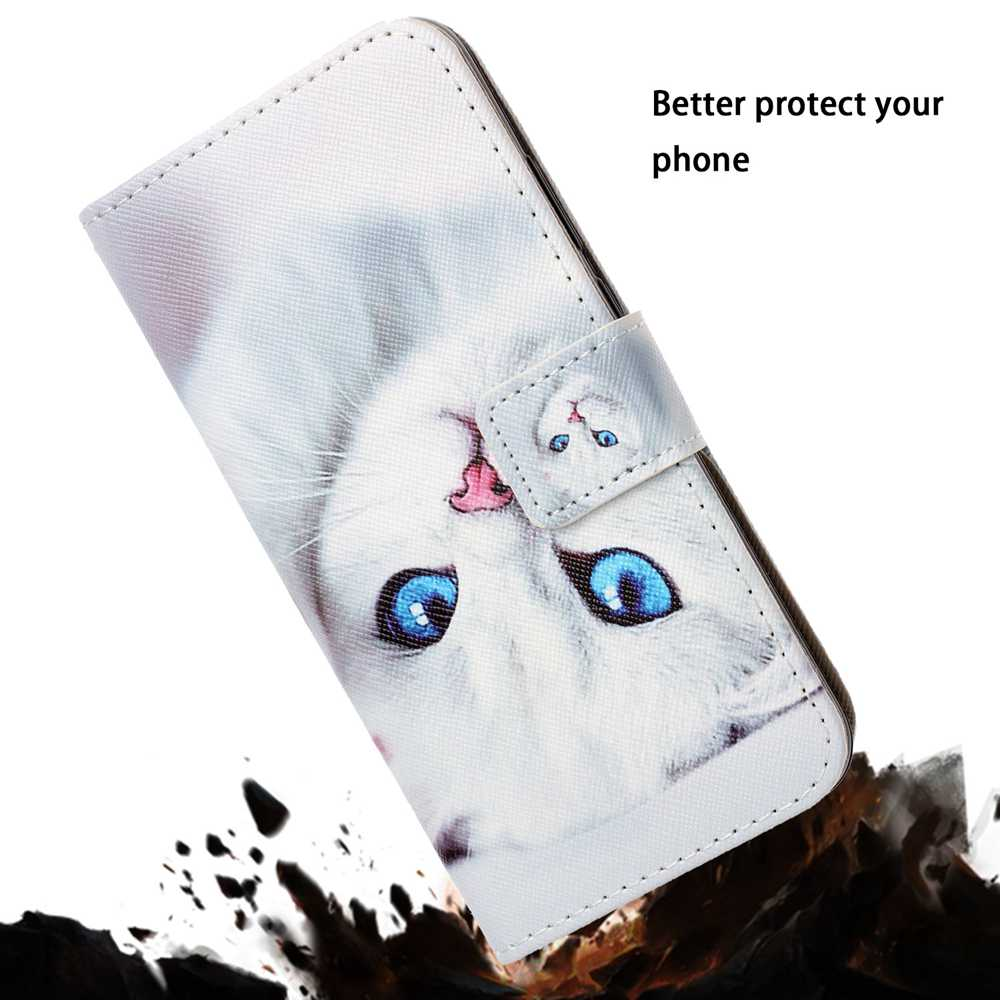 Painted PU Phone Case for Iphone 11 Pro- Multi-F