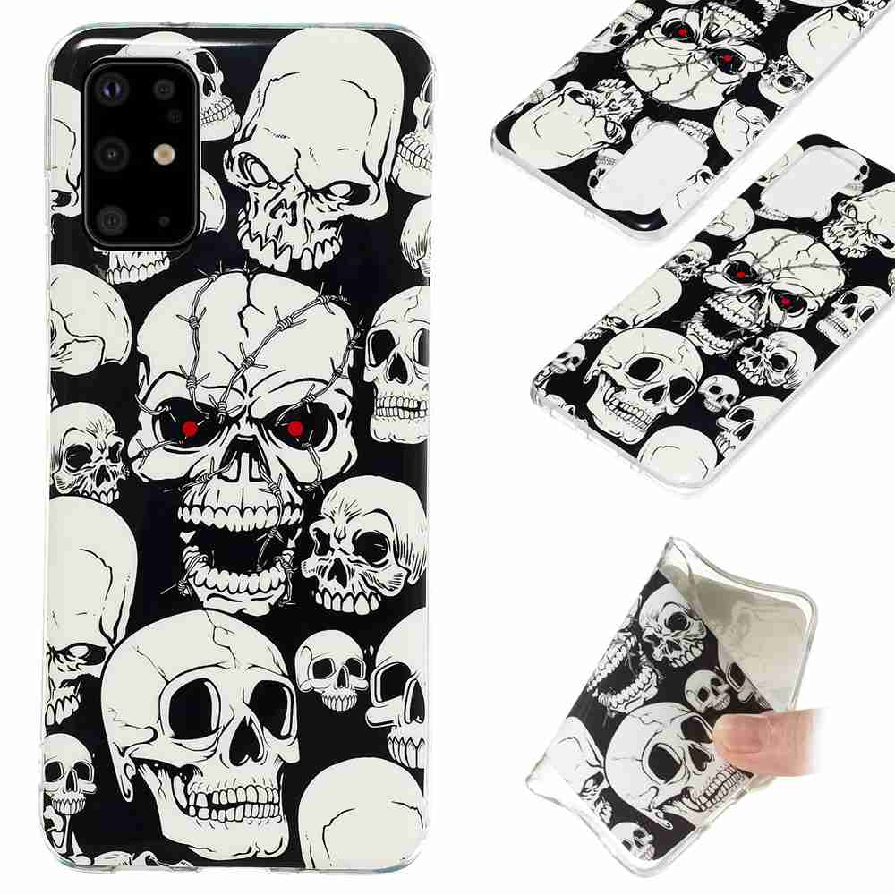 Luminous Painted TPU Phone Case for Samsung Galaxy S20 Ultra- Multi-H