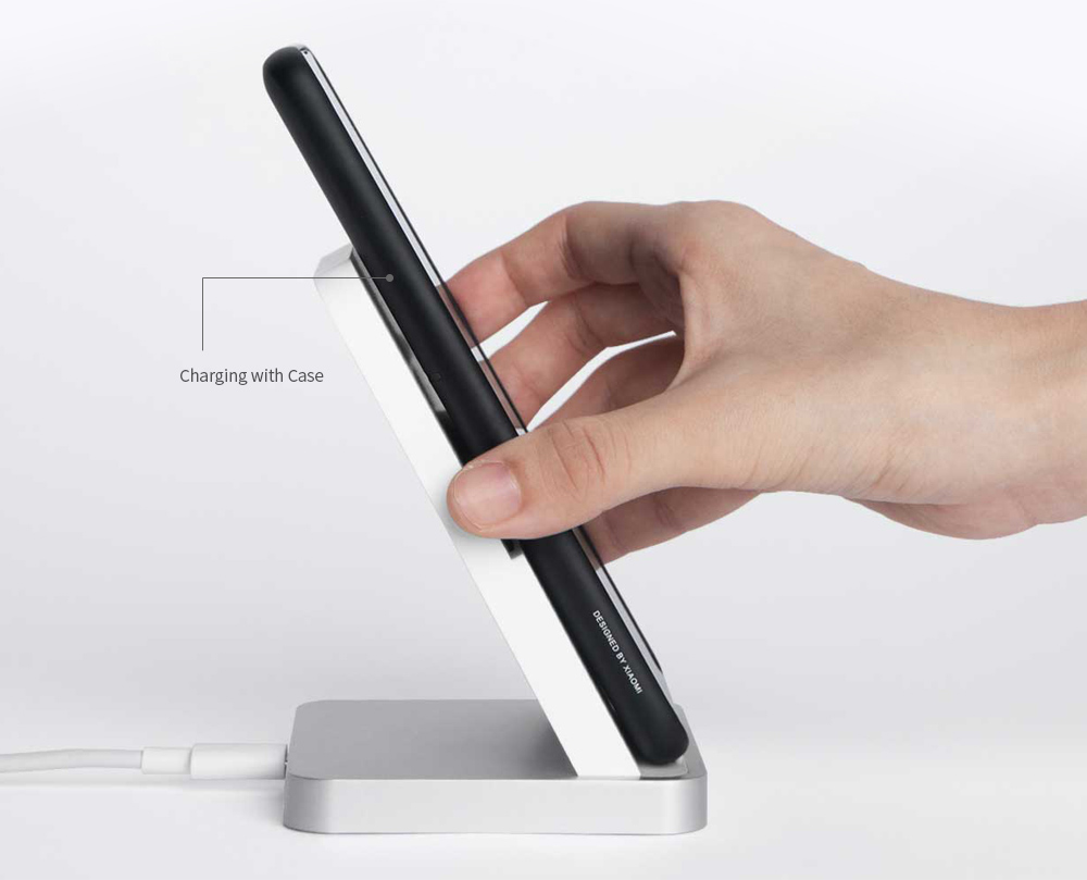 Xiaomi 30W Vertical Air-cooled Wireless Charger- White