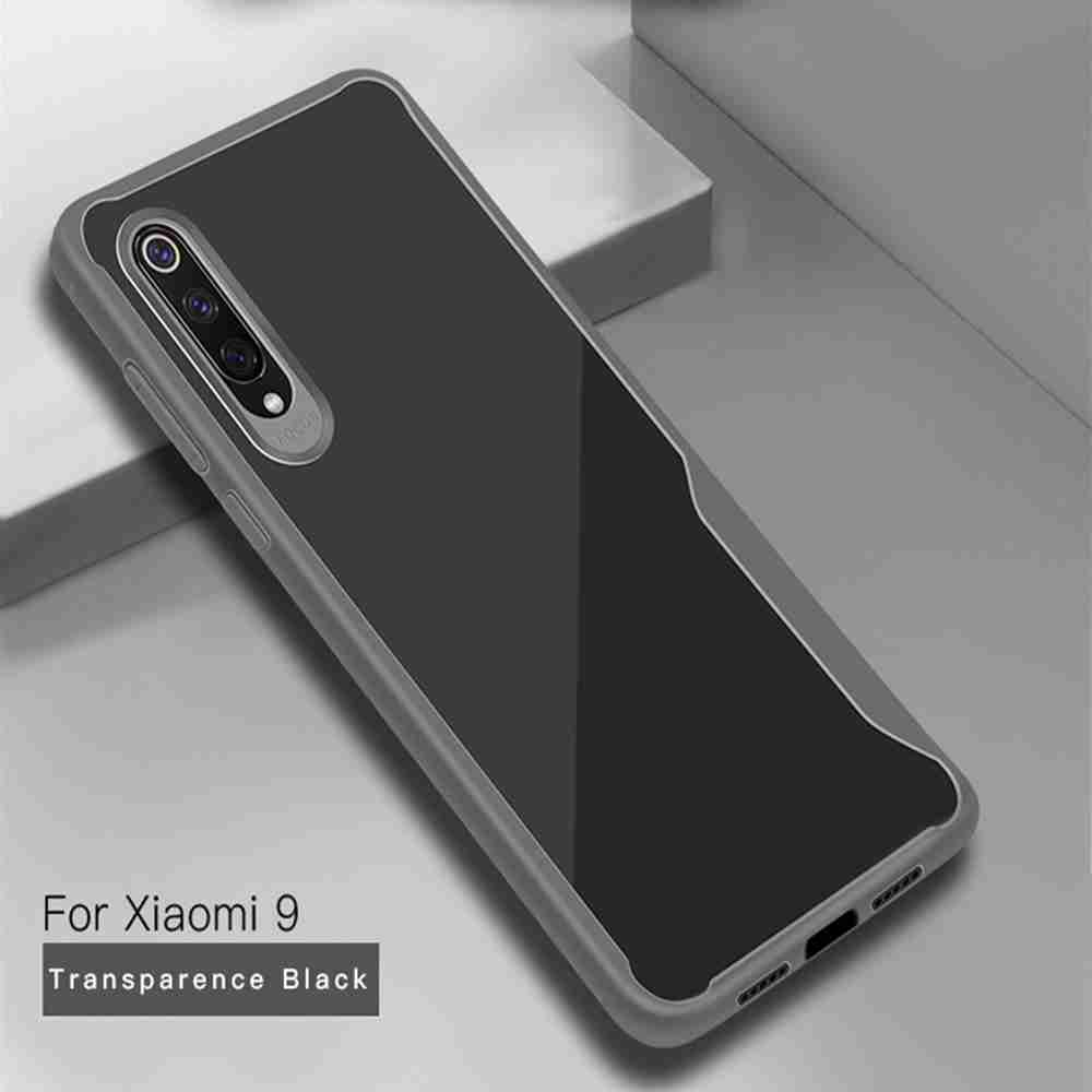 Crystal Pie TPU Series Phone Case for Xiaomi 9- Cadetblue