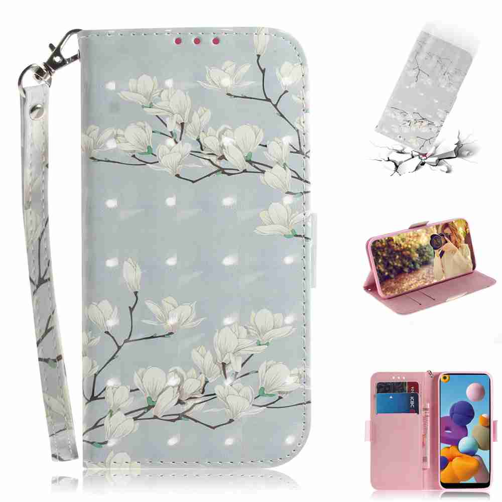 Multi-Pattern 3D Painted Phone Case for Samsung Galaxy A21- Multi-D