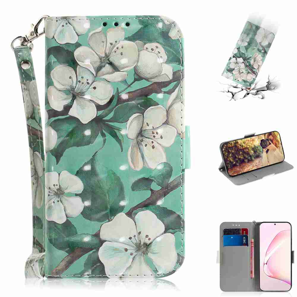 Multi-Pattern 3D Painted Phone Case for Samsung Galaxy  Note 10 Lite /A81- Multi-K