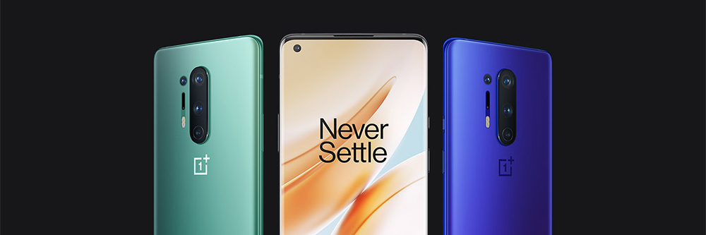 Oneplus 8 Pro 5G Smartphone - Light Sea Green 8GB+ 128GB