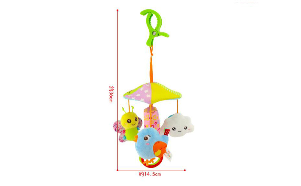 Parasol Rotary Truck Hanging Bed Hanging Baby Toys - Multi-A