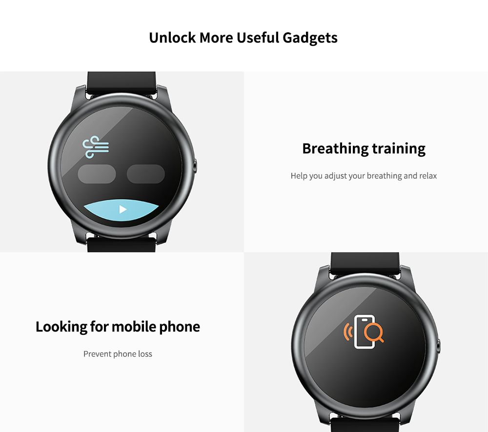 Haylou Solar Smart Watch Global Version Unlock More Useful Gadgets