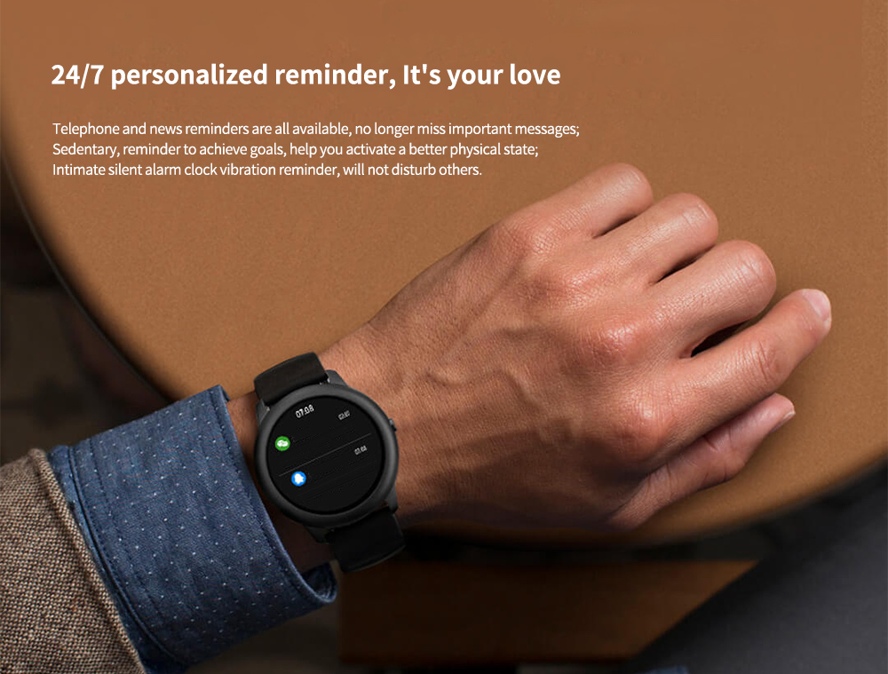 Haylou Solar Smart Watch Global Version 24/7 personalized reminder