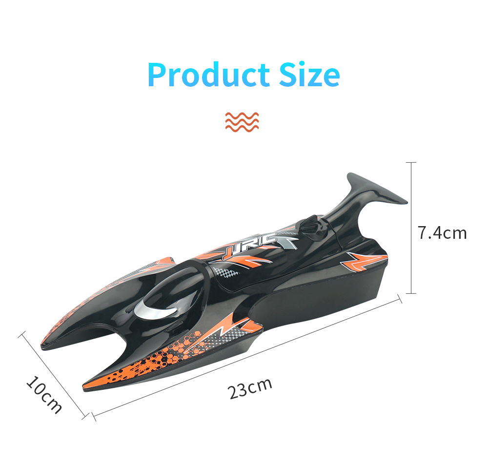 JJRC S6 2.4G Electric RC Boat Vehicle Model size