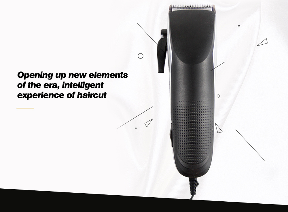 HC-07 Multi-functional Professional Hair Trimmer intelligent experience of haircut