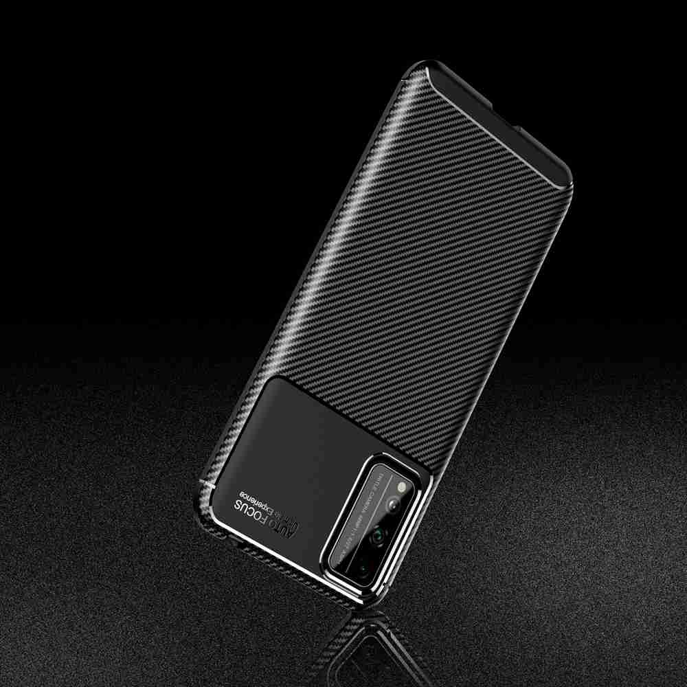 Beetle Carbon Fiber Phone Case for Huawei Honor Play 4T Pro - Black