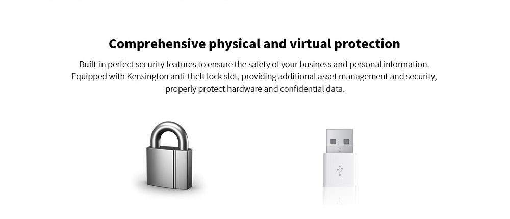 ASUS VC66I3EAZ Portable New Desktop Mini PC Comprehensive physical and virtual protection