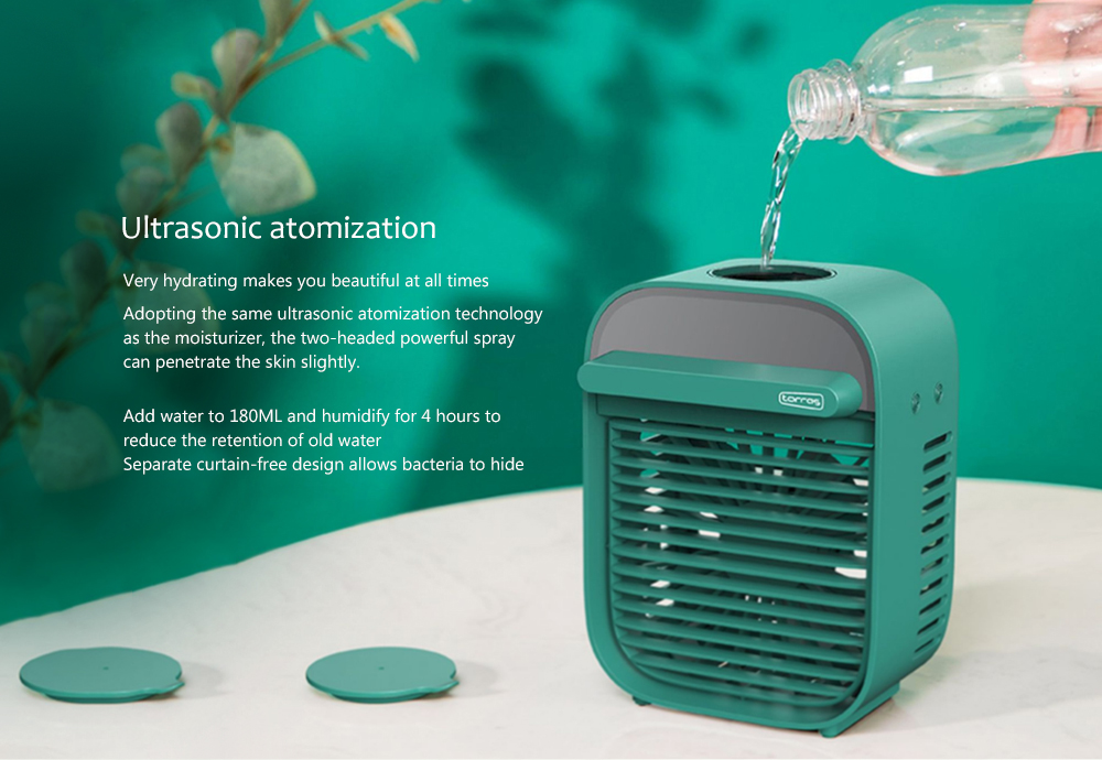 Nesugar R012 Cube Water Cooling Fan Ultrasonic atomization
