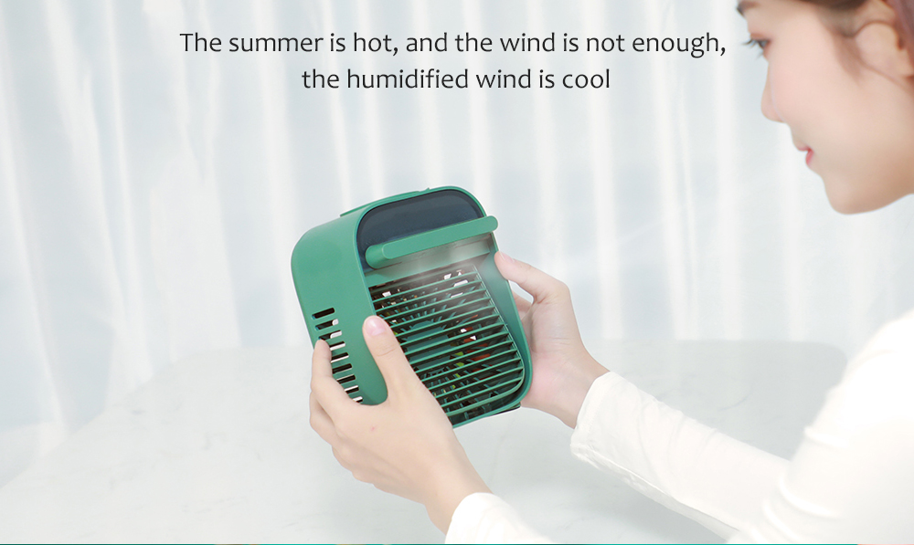 Nesugar R012 Cube Water Cooling Fan the humidified wind is cool