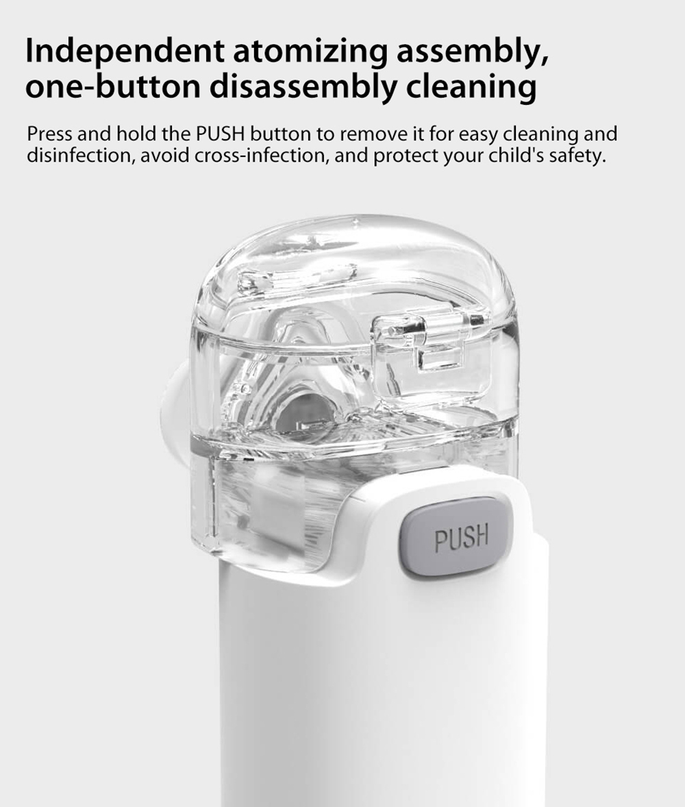 Andon VP-M3A Mute Micro-mesh Nebulizer Independent atomizing assembly,one-button disassembly cleaning