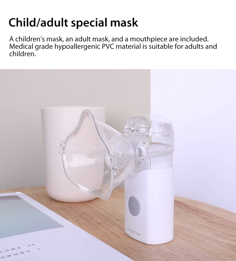 Andon VP-M3A Mute Micro-mesh Nebulizer Child/adult special mask