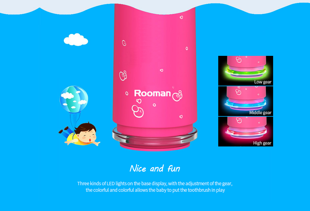 Rooman C1 Children Electric Toothbrush Nice and fun