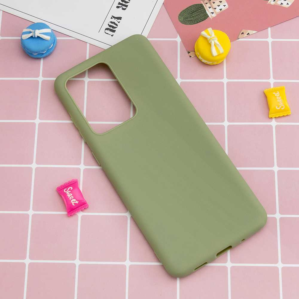 TPU Candy Material Phone Case for  Huawei P40 - Black