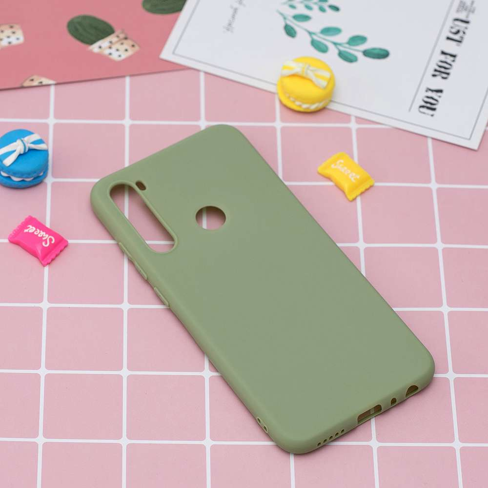 TPU Candy Material Phone Case for  Samsung Galaxy A21 - Yellow