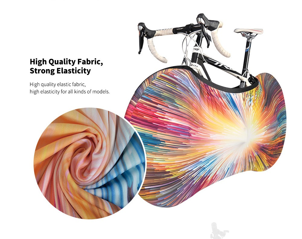 NUCKILY XJ1W201 Dust Guard Bicycle Wheel Cover High Quality Fabric